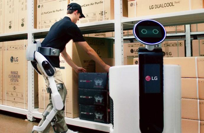 Robots de servicio inteligente definen una nueva dirección para LG