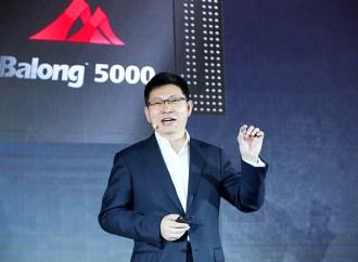 Huawei presentó el chip Multi-ModeBalong 5000y el dispositivo 5G CPE Pro