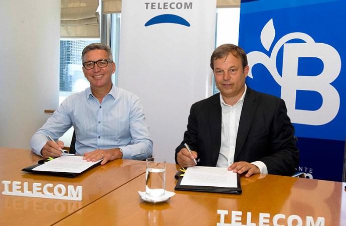 Telecom mejora la red móvil e impulsa la conectividad en Alte. Brown
