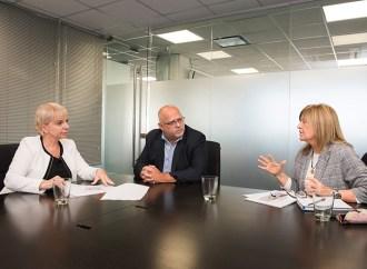 Silvana Giudici se reunió con representantes del Plan Belgrano