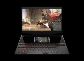 HP lanzó la primera laptop para videojuegos de doble pantalla