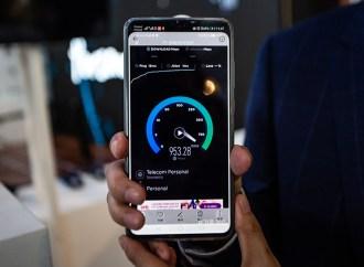 Personal realizó la primera demo 5G para el público sobre su red móvil