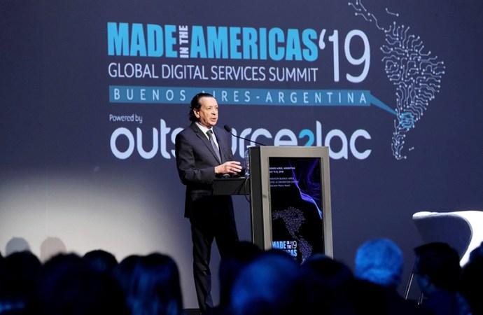 El ministro Sica inauguró la primera cumbre global de servicios digitales