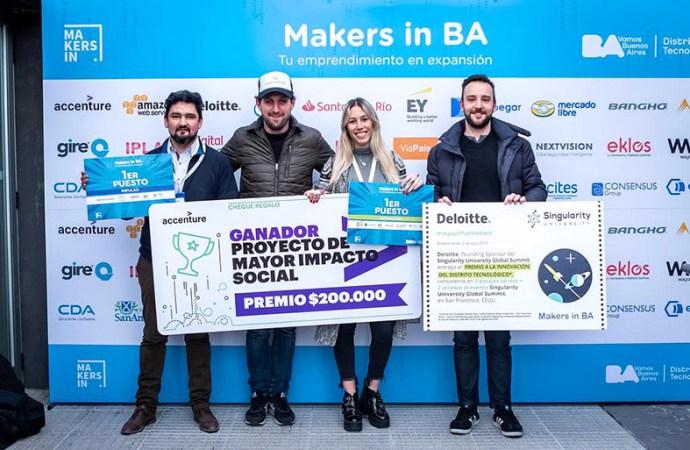 Se conocieron los ganadores de Makers in BA
