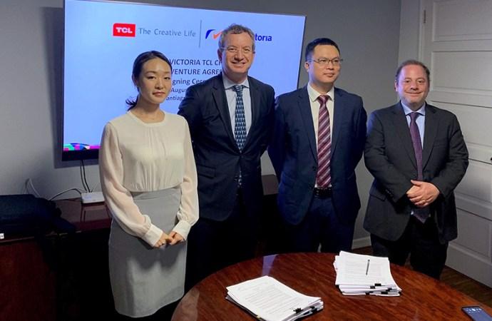 TCL y Radio Victoria establecen un joint venture en Chile