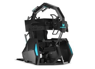 Acer presentó Predator Triton 300 y la silla gaming inmersiva Predator Thronos Air