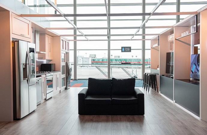 LG presentó Smart Home en el Aeropuerto Internacional Ezeiza