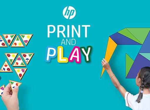HPpresentó la plataforma Print, Play & Learn sin costo