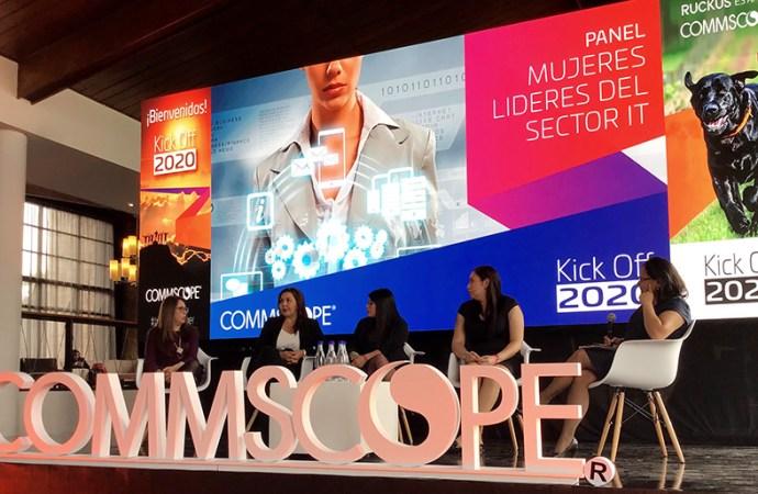 CommScope presentó un panel para el intercambio de experiencias de mujeres en el sector TI