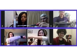 Equipo de estudiantes participó en el Mundial de Robótica First Global Challenge 2020