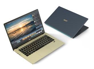 Acer presentó la última línea de notebooks de las series Swift, Spin y Aspire
