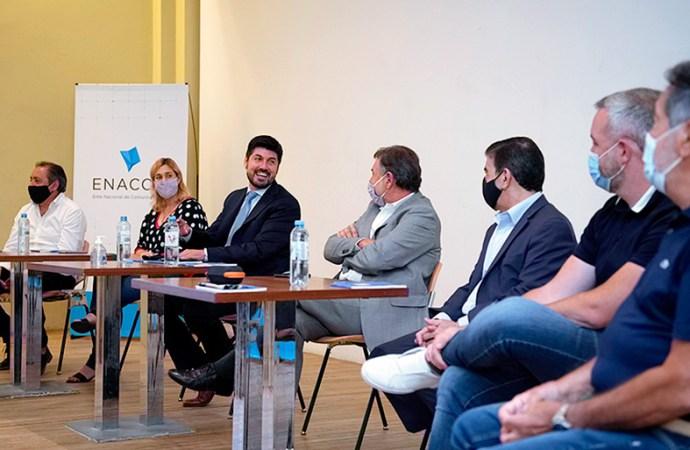 Reunión de Enacom con intendentes de Córdoba