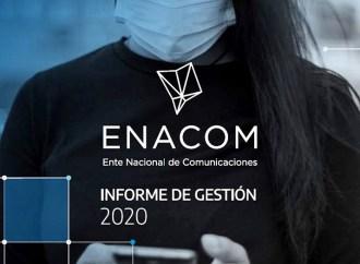 Informe de gestión ENACOM 2020