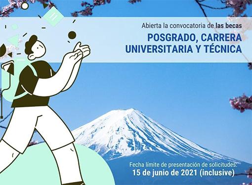 La Embajada de Japón en Argentina inscribe para programa de becas en Japón