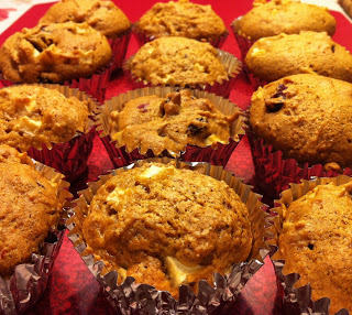 RECIPE: Apple Pumpkin Muffins!