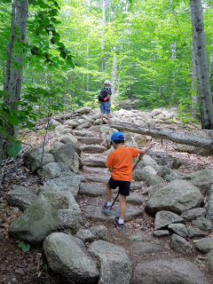 The Surprising Hike, with a ten and four year old