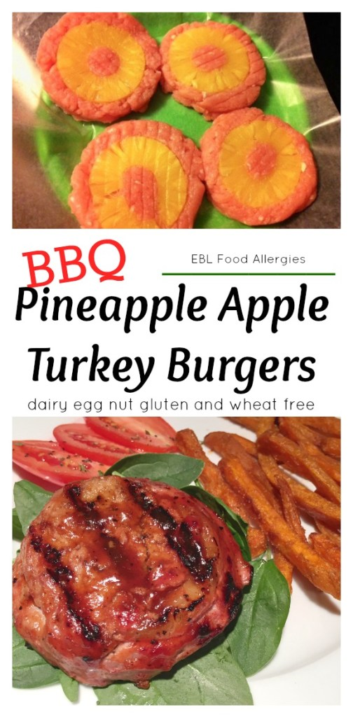 BBQ Apple Turkey Burgers - DF EG NF GF WF