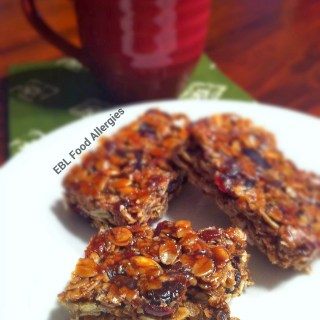 Free Allergy Recipe: Super Awesome Allergy Friendly Granola Bars