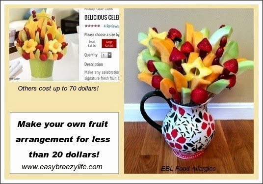 Easy To Make Fruit Arrangement