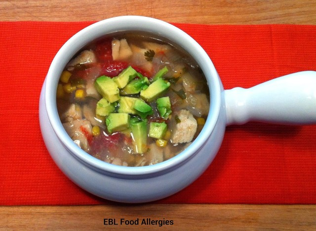 Slow Cooker Chicken Tortilla Soup top8free glutenfree