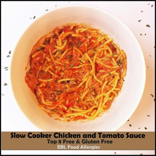 Slow Cooker Chicken and Tomato Sauce Recipe
