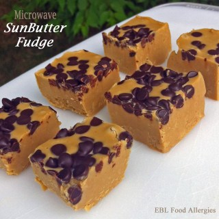 Microwave SunButter® Fudge