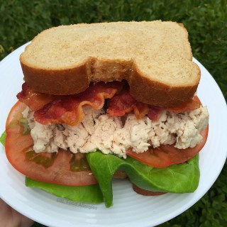 Chicken Salad without Mayo Recipe          #dairyfree #eggfree #soyfree #glutenfree
