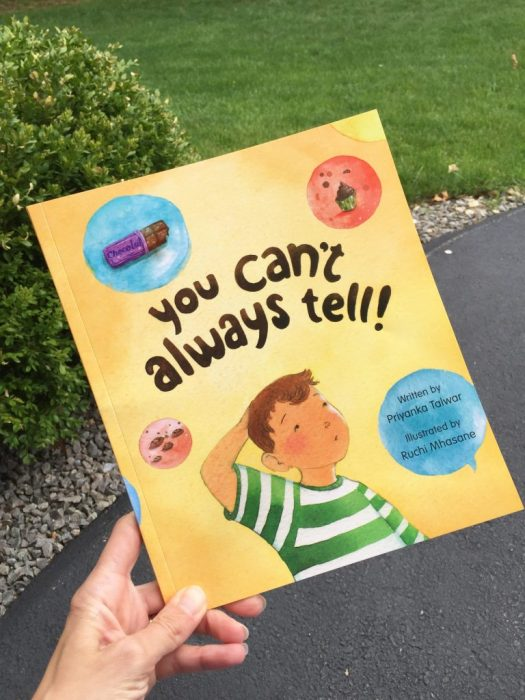 Read my Food Allergy Book Review You Can't Always Tell by Priyanka Talwar