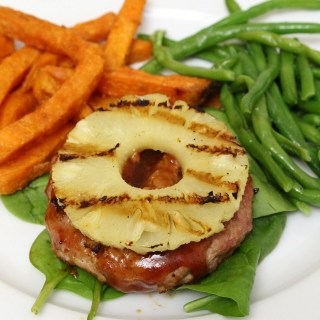 Pineapple Apple Turkey Burgers