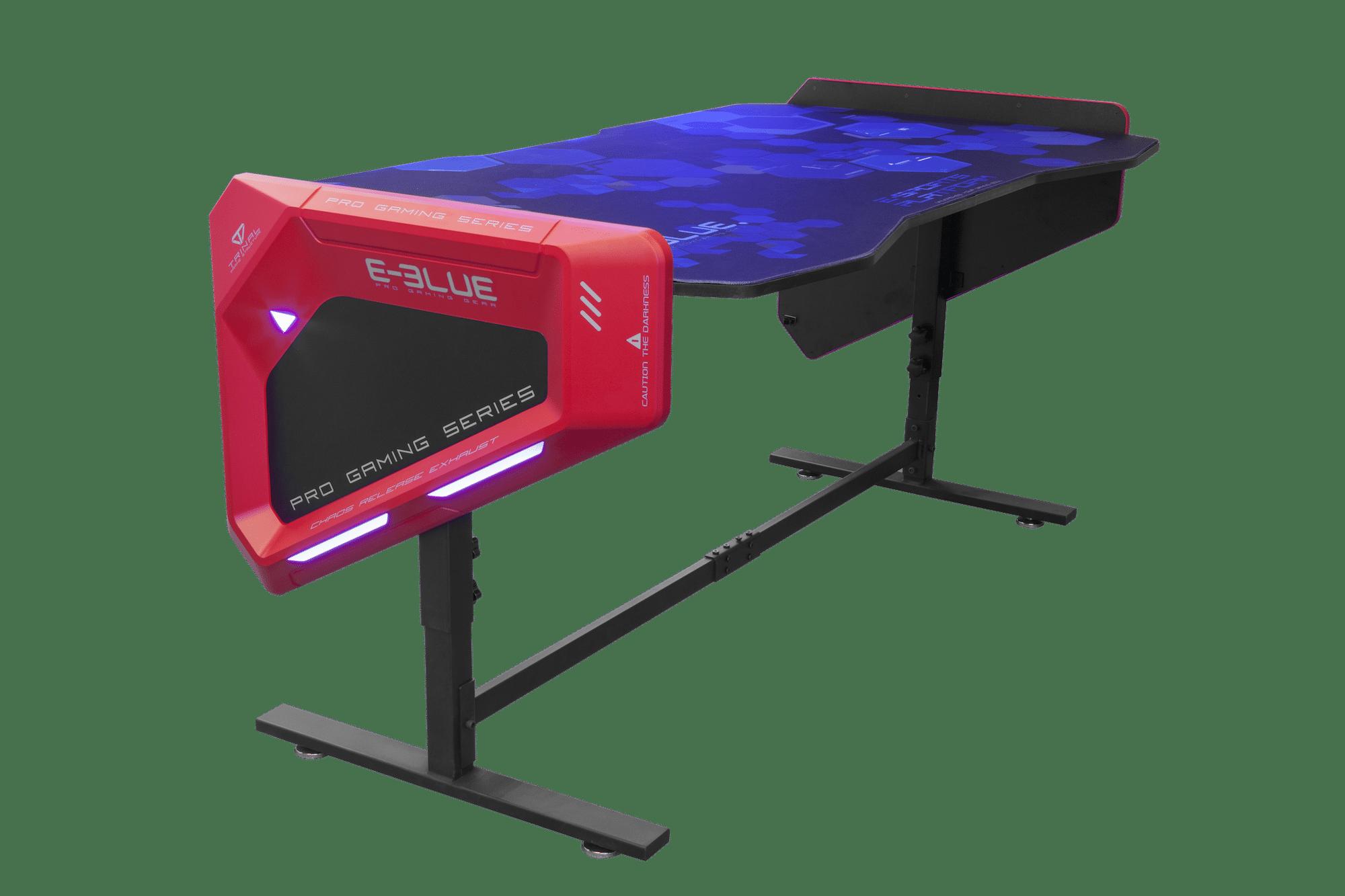 Bureau Gaming Rtro Eclair RGB EGT003 Hauteur