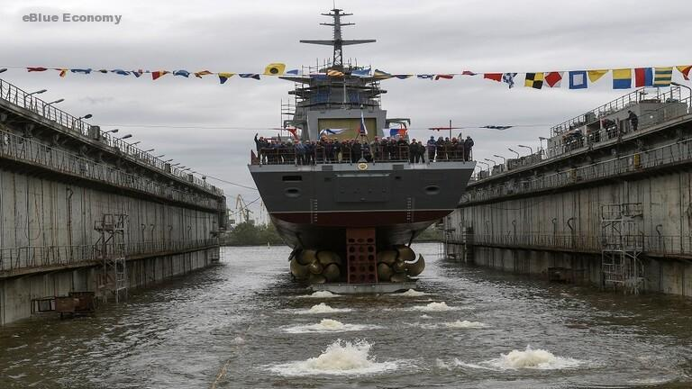 eBlue_economy_إختبار الفرقاطة الروسية_جريمياشى _رحلة إلى بحر البلطيق