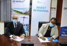 eBlue_economy_DP World and Zhidi group executives witness the signing of the e-commerce logistics MOU