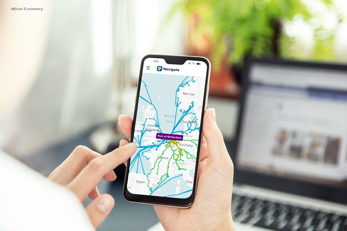 eBlue_economy_navigate-port-of-rotterdam-app-smartphone