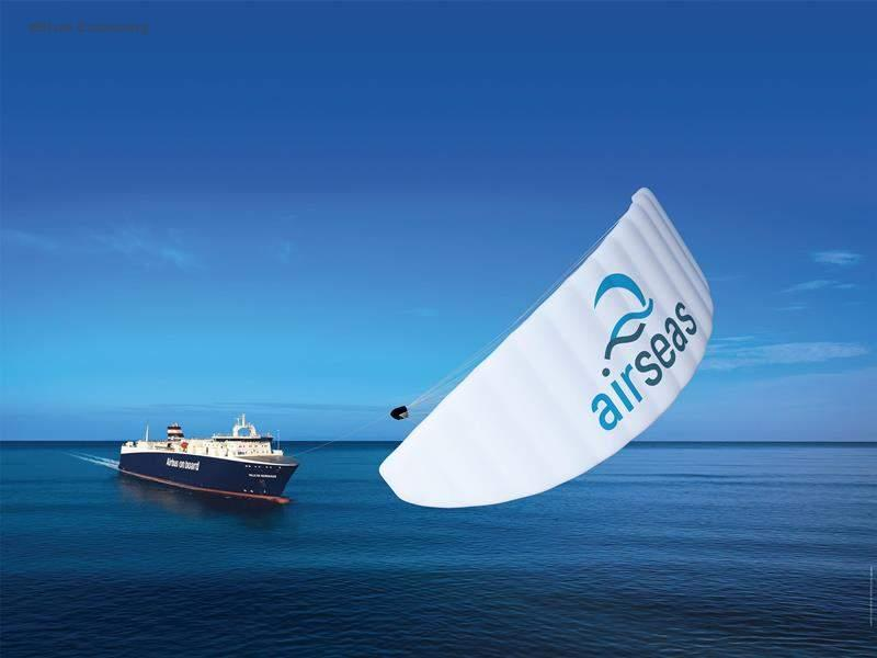 eBlue_economy_ClassNK grants AIP to KLine and Airseas for their Seawing kite system