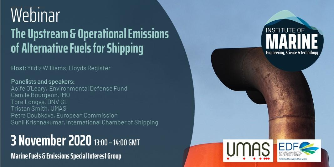 eBlue_economy_The Upstream & Operational Emissions of Alternative Fuels for Shipping