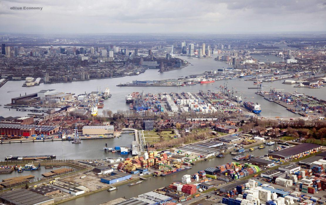 eBlue_economy_ Maashaven once again Rotterdam's leading inland port