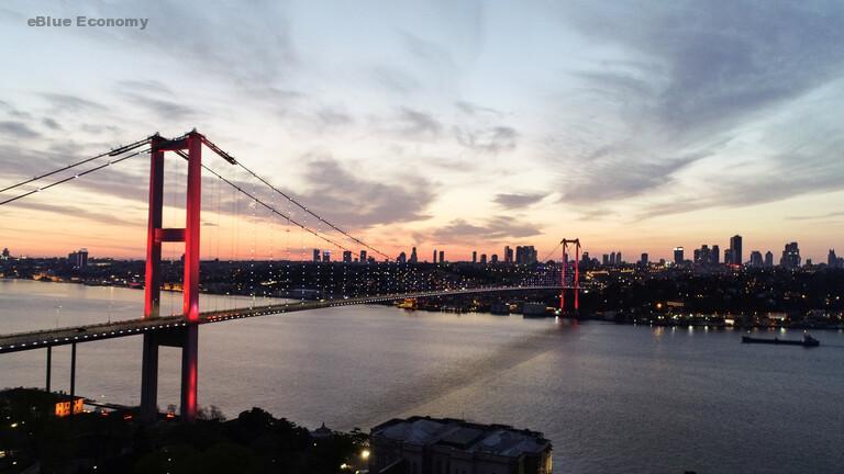 eBlue_economy_أردوغان يعلن موعد تشييد أول جسر فوق قناة اسطنبول
