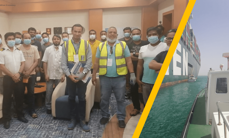 eBlue_economy_Confirming Ever Given crew welfare, but Egypt cannot hold Suez seafarers hostage