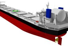 eBlue_economy_Tsuneishi Shipbuilding's LNG Fuel Bulk Carrier Design Receives AiP