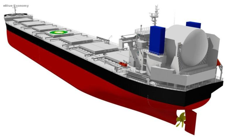 eBlue_economy_Tsuneishi Shipbuilding's LNG Fuel Bulk Carrier Design Receives AiP