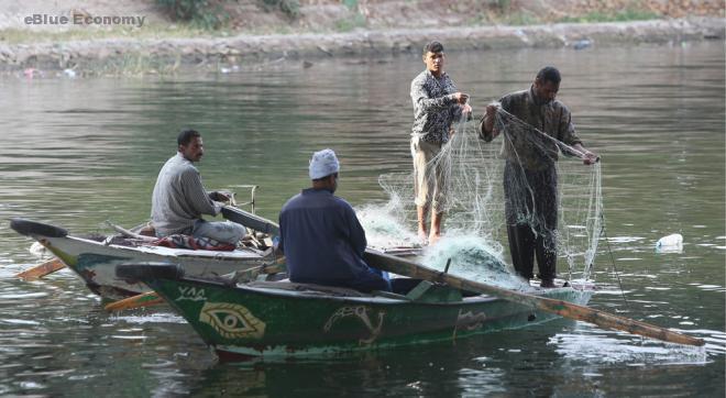 eBlue_economyصيد السمك فى نهر النيل