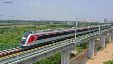 eBlue_economy_الصين تنتج أول قطار كهربائي حضري متعدد الوحدات مخصص للتصدير إلى مصر