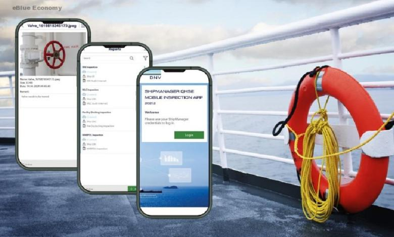 eBlue_economy_ DNV launches app for efficient safety inspections and reporting in ShipManager's QHSE software