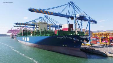eBlue_economy_Containership 'HMM NURI' makes first call in Hamburg
