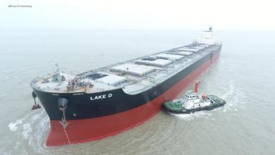 eBlue_economy_Capesize vessel calls at Sagar for the first time in the history of Kolkata port