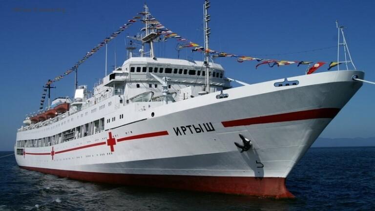 eBlue_economy_شركة بناء سفن روسية تقوم بتطوير _مستشفيات عائمة_جديدة
