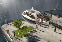 eBlue_economy_ Electric water taxis and buses - ecological transport in metropolises