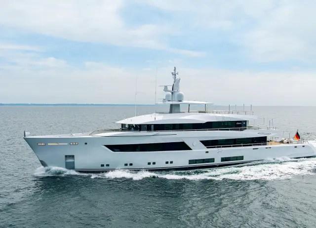 eBlue_economy_Lürssen presents project 13800 at the upcoming Monaco Yacht Show 2021