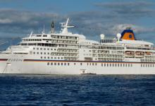 """eBlue_economy_The first cruise ship """"Europa"""" of the season from port of Gdansk 22"""
