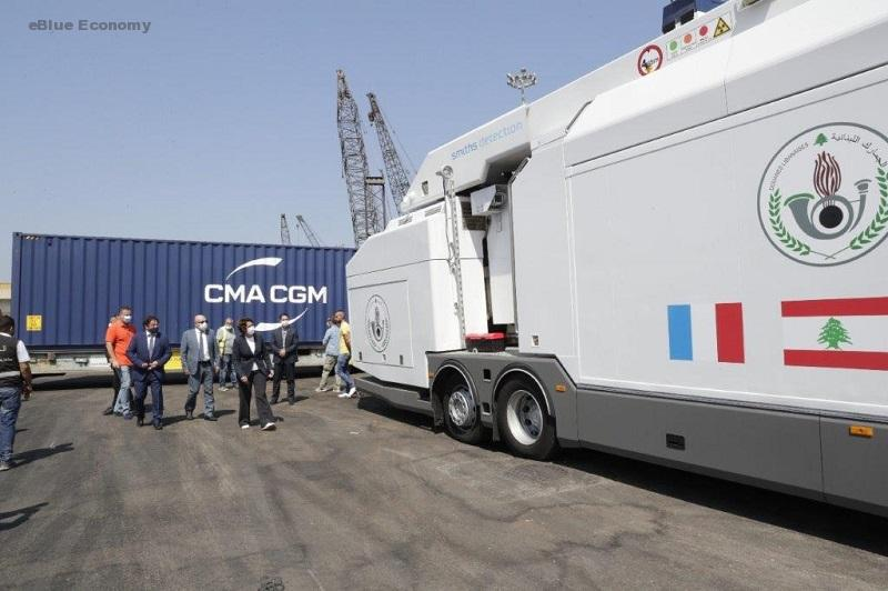 eBlue_economSmiths Detection installs mobile inspection system at Beirut Porty_